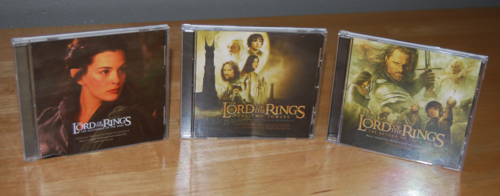 Lord of the rings cds