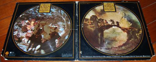 Lord of the rings vinyl lp 1978