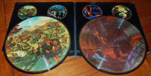 Lord of the rings vinyl lp