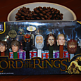 Ltd ed lord of the rings pez dispenser set