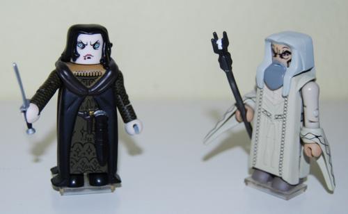 Saruman & grima figures