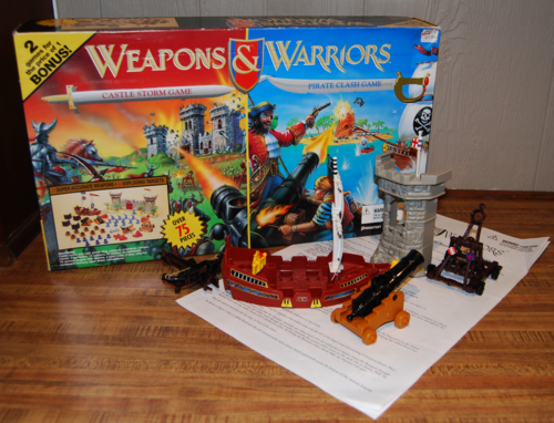 Weapons & warriors game