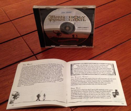 Monty python & the holy grail cd rom x