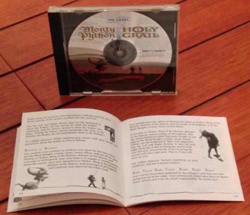 Monty python & the holy grail cd rom