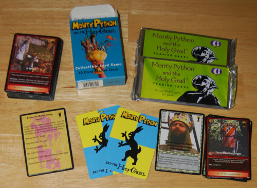 Monty python collector cards