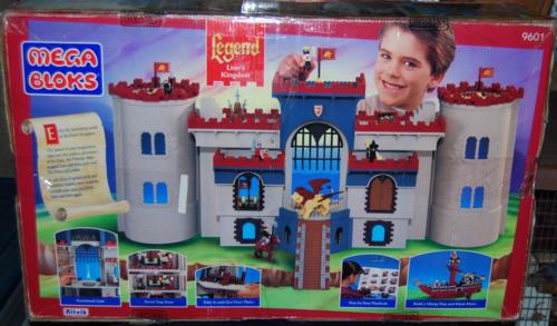 Megablocks castle