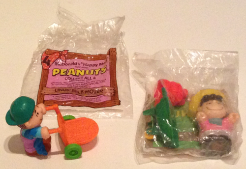 Mcdonalds kids meal toys peanuts