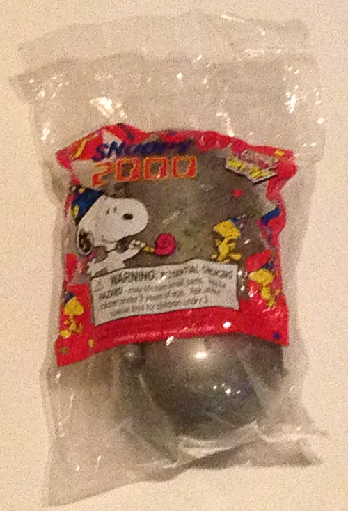Peanuts time capsule 2000