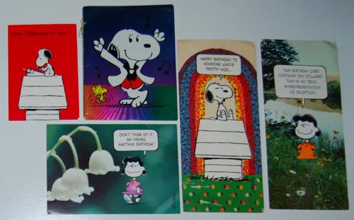 Peanuts cards