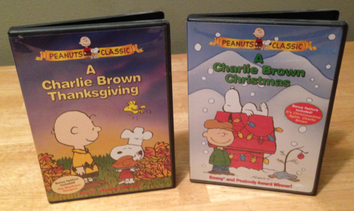 Peanuts holiday dvds