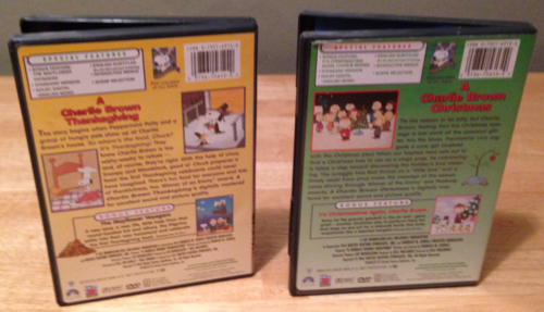 Peanuts holiday dvds 2