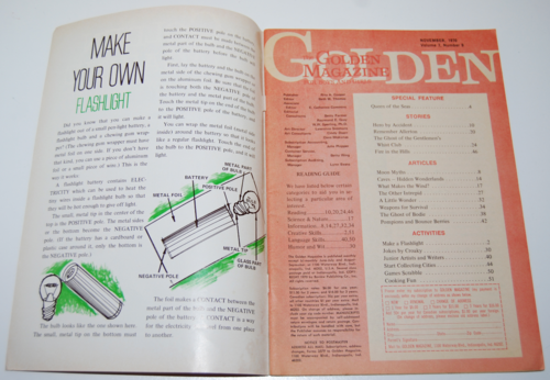 Golden magazine november 1970