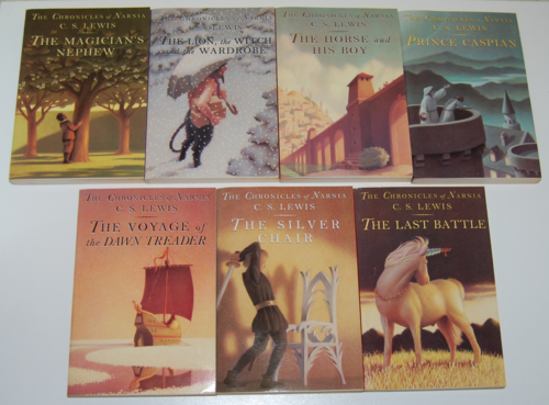 Chronicles of narnia books