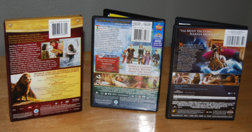 Narnia dvds x