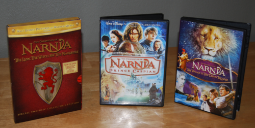 Narnia dvds