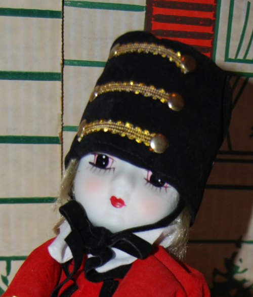 Vintage musical marching band doll 1