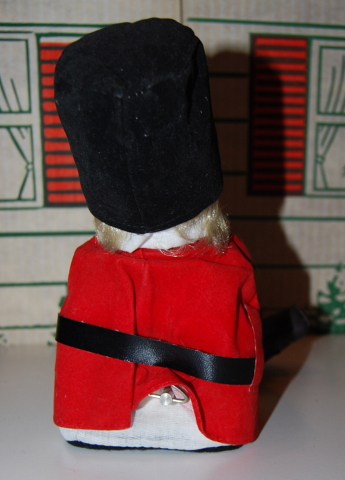 Vintage musical marching band doll 3