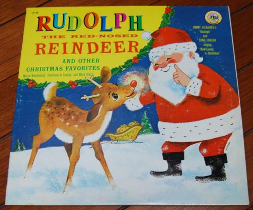 Rudolph vinyl