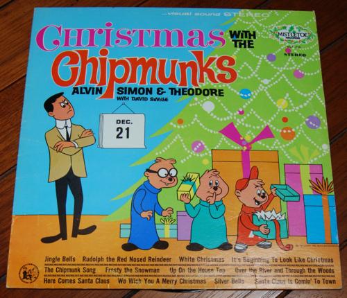 Xmas with the chipmunks vinyl