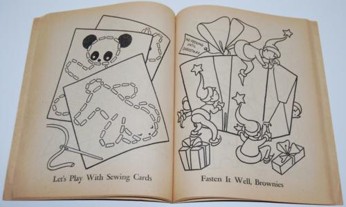 Dell 1953 santa claus coloring book 5