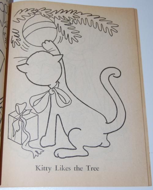 Dell 1953 santa claus coloring book 2