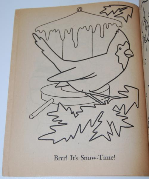 Dell 1953 santa claus coloring book 8