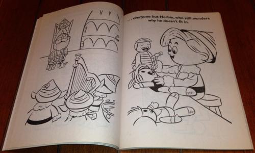 Rudolph coloring book 2