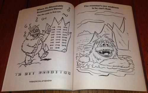 Rudolph coloring book 3