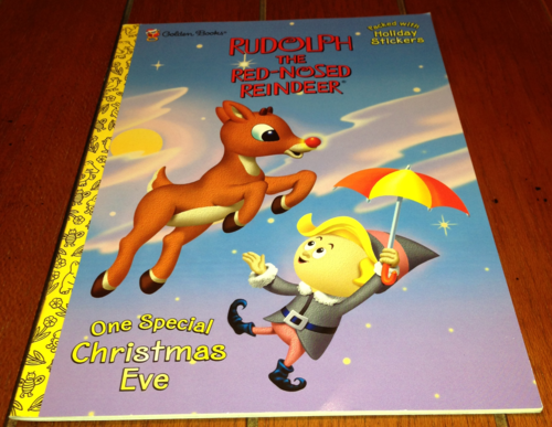 Rudolph sticker book