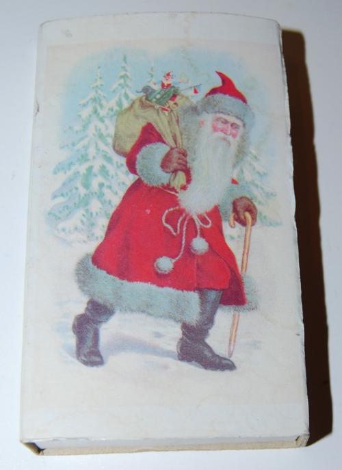 Christmas santa claus matchbox 2