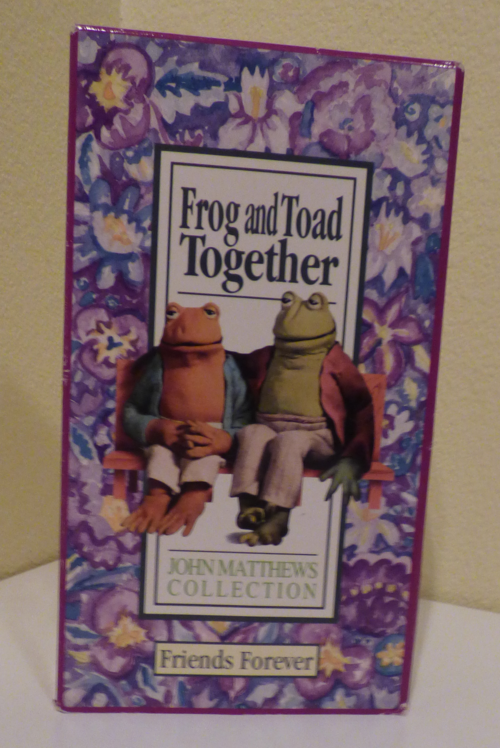 Frog & toad together vhs
