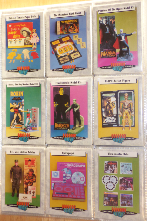 Classic toys trading cards 6