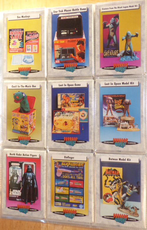 Classic toys trading cards 8