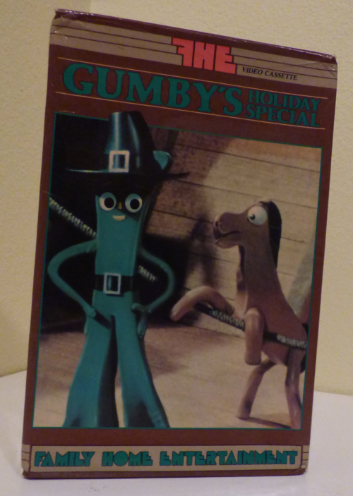 Gumby's holiday special vhs