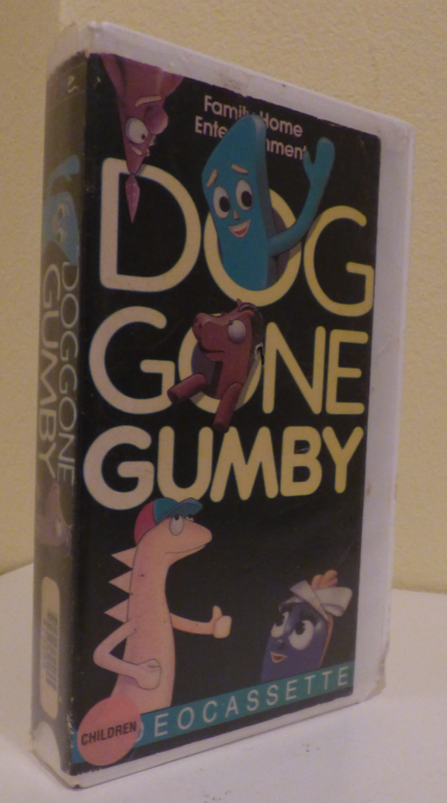 Dog gone gumby vhs
