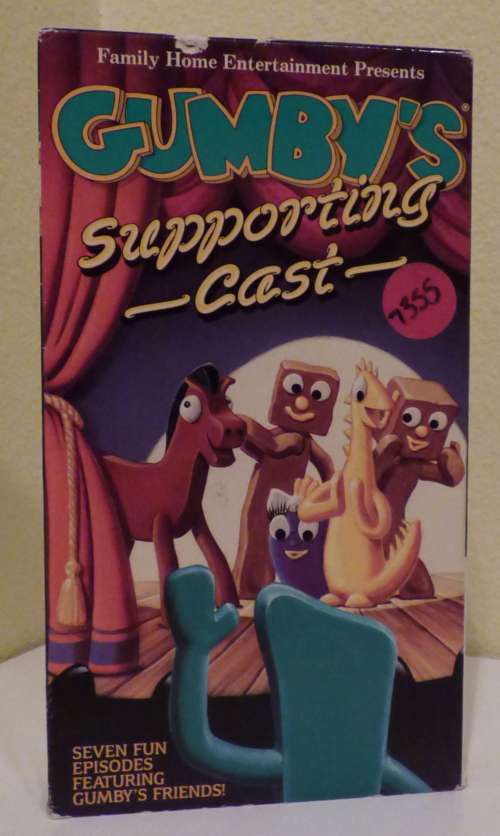Gumby's supporting cast vhs