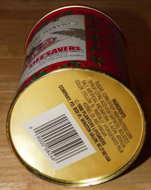 Lifesavers tin 1