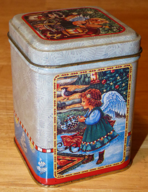 Bayberry candle tin 1
