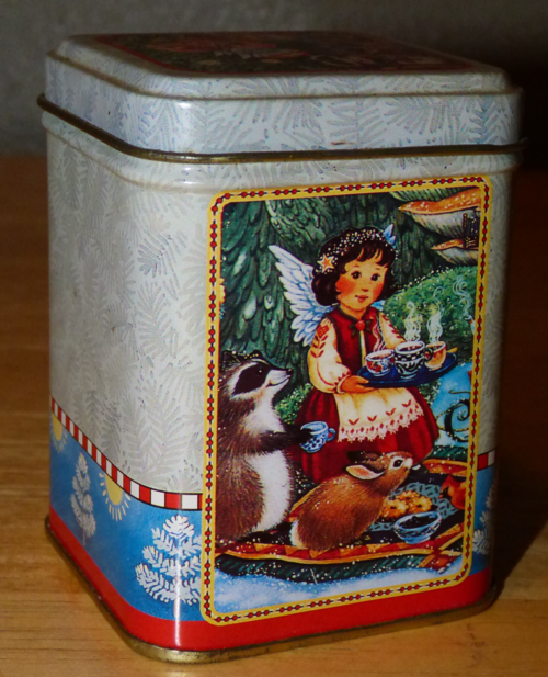 Bayberry candle tin