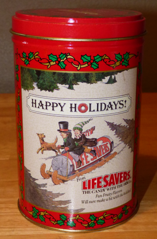 Lifesavers tin