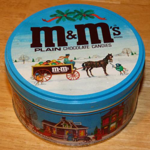 M&ms tin