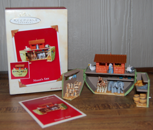 Hallmark keepsake noah's ark ornament
