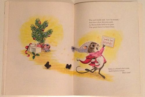 Santa mouse meets marmaduke 5