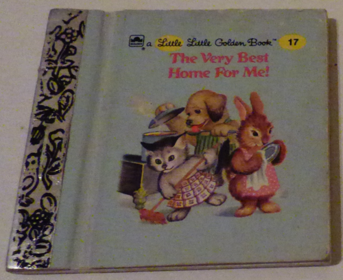 Little little golden book the very best home for me