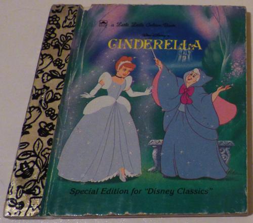 Little little golden book cinderella