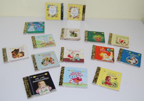 Tiny little golden books