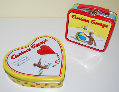 Curious george tins