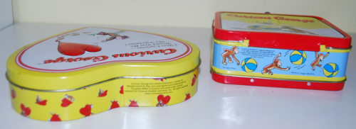 Curious george tins x