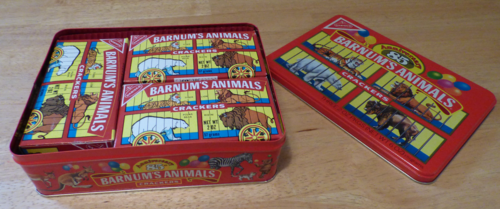 Barnum's animal crackers 85th anniversary tin 2
