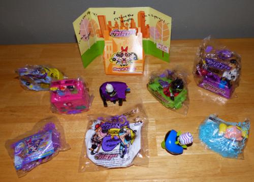 Powerpuff girls toys